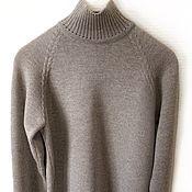 Одежда handmade. Livemaster - original item Men`s sweater unisex Merino