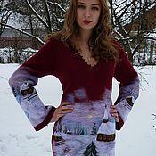 """Одежда ручной работы. Ярмарка Мастеров - ручная работа Платье """"Зима. Татьянин день"""". Handmade."""