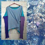 Одежда handmade. Livemaster - original item KN_003_SBKG Blouson a 4 x coloured. Handmade.