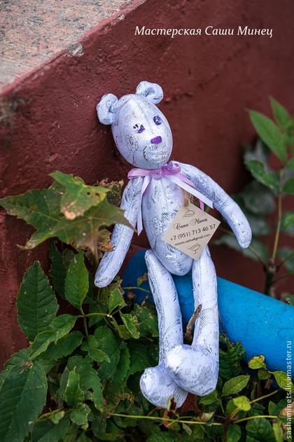 Игрушки животные, ручной работы. Ярмарка Мастеров - ручная работа Винтажный мишка  Мануэль. Handmade.
