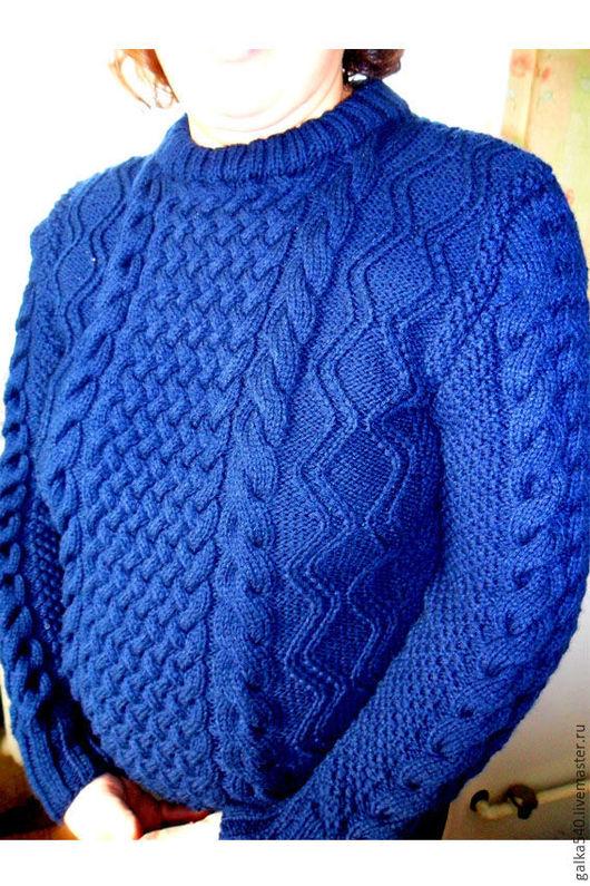 """Кофты и свитера ручной работы. Ярмарка Мастеров - ручная работа. Купить Вязаный свитер """"Тепло севера"""".Авторская работа. Handmade."""