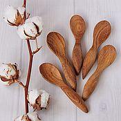 Посуда handmade. Livemaster - original item Children`s wooden spoon 16 cm. Handmade.