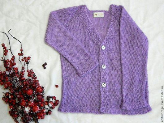Одежда для девочек, ручной работы. Ярмарка Мастеров - ручная работа. Купить Жакет детский 9-18 мес мохер. Handmade.