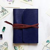 Канцелярские товары manualidades. Livemaster - hecho a mano El bloc de notas de cuero con anillos. Handmade.