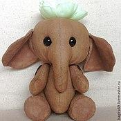 Куклы и игрушки ручной работы. Ярмарка Мастеров - ручная работа Слоник Лили. Handmade.
