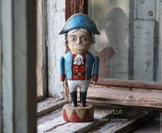 Сказочные персонажи ручной работы. Ярмарка Мастеров - ручная работа. Купить Игрушка из папье-маше Щелкунчик. Handmade. Щелкунчик