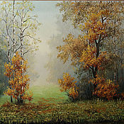 Картины и панно handmade. Livemaster - original item Autumn mist. Handmade.