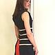 """Платья ручной работы. Платье с печворком """"Насекомое"""". Елена Камм. Ярмарка Мастеров. Платье нарядное, необычное платье, сексуальное платье"""