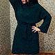 Платья ручной работы. Ярмарка Мастеров - ручная работа. Купить Вязаное авторское платье ИНСБРУК. Handmade. Платье-свитер
