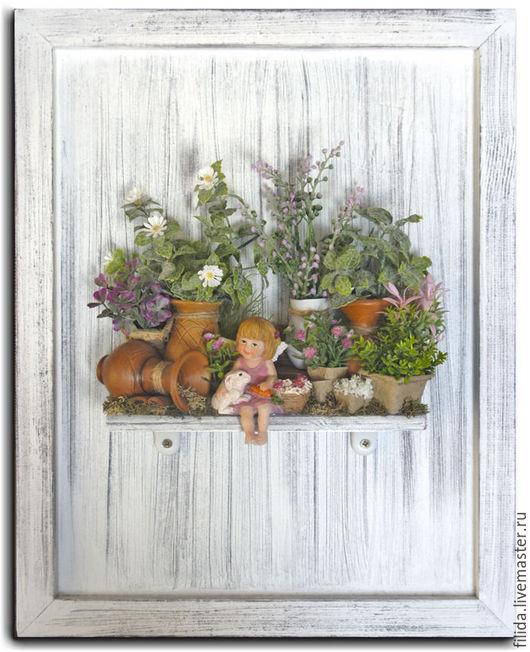 Интерьерное панно для детской Маленькая фея