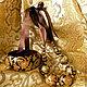 Комплекты украшений ручной работы. Парчовый комплект. Людмила Крикун Ходи в огурцах!. Интернет-магазин Ярмарка Мастеров. Браслет, темпера
