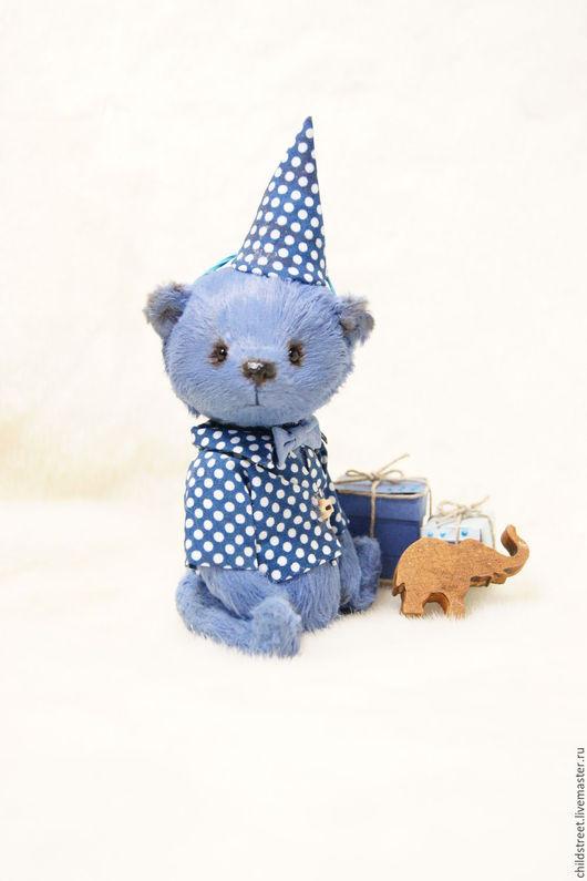 Мишки Тедди ручной работы. Ярмарка Мастеров - ручная работа. Купить Мишутка))) мишка Тедди. Handmade. Синий, купить подарок