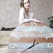 Для дома и интерьера ручной работы. Ярмарка Мастеров - ручная работа Часы настенные 100cм. Handmade.