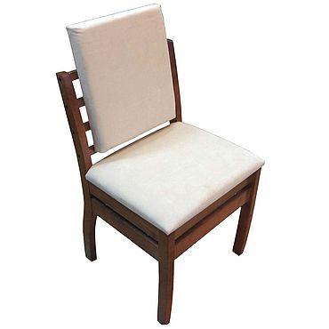 Мебель ручной работы. Ярмарка Мастеров - ручная работа Стул мягкий, из массива дерева. Handmade.
