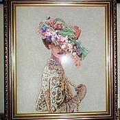 """Картины и панно ручной работы. Ярмарка Мастеров - ручная работа Картина """"Викторианская элегантность"""" .Ручная работа. Handmade."""