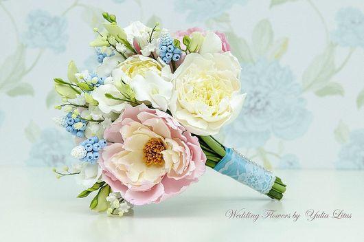 Букеты ручной работы. Ярмарка Мастеров - ручная работа. Купить Цветы из полимерной глины. Handmade. Букет, цветы из полимерной глины