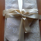 Свадебный салон handmade. Livemaster - original item Tablecloth for newlyweds. Handmade.