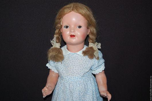 Винтажные куклы и игрушки. Ярмарка Мастеров - ручная работа. Купить БРОНЬ! Флиртушка Sonneberg, молд 144, после реставрации. Handmade.