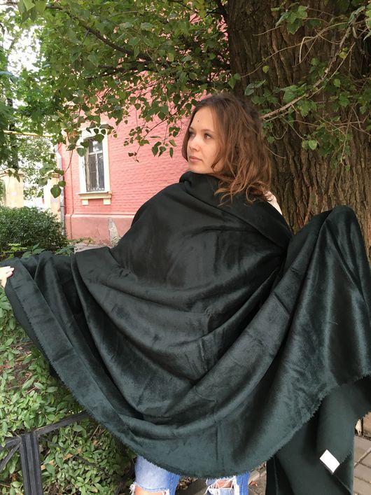 """Шитье ручной работы. Ярмарка Мастеров - ручная работа. Купить 53701 итальянская пальтовая шерсть """"темный бутылочный"""". Handmade."""