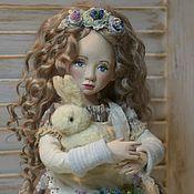 Куклы и игрушки handmade. Livemaster - original item Author`s doll, collectible, handmade. Viola.. Handmade.