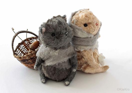 Мишки Тедди ручной работы. Ярмарка Мастеров - ручная работа. Купить Котята. Handmade. Друзья тедди, тедди котенок
