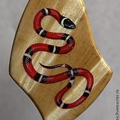 """Украшения ручной работы. Ярмарка Мастеров - ручная работа Кулон """"Змея"""". Handmade."""