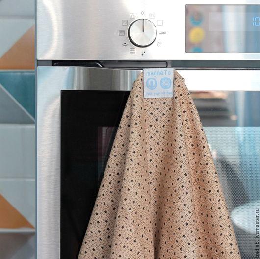 Кухня ручной работы. Ярмарка Мастеров - ручная работа. Купить Набор кухонных полотенец magneTo (stars). Handmade. Кухонные принадлежности