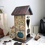 """Для дома и интерьера ручной работы. Ярмарка Мастеров - ручная работа Чайный домик """"Лимонное деревце"""". Handmade."""