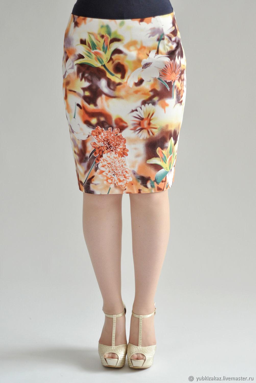 4ee5a1575 Livemaster Skirts handmade. Skirt Summer Heat cotton. Skirt Priority  (yubkizakaz). My Livemaster Skirts handmade.