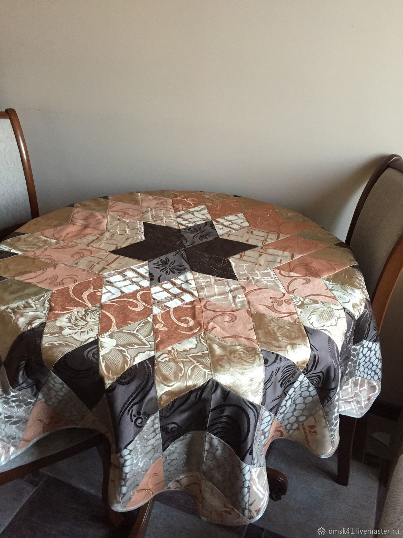 Patchwork tablecloth, Tablecloths, Omsk,  Фото №1