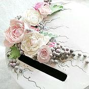 """Свадебный салон ручной работы. Ярмарка Мастеров - ручная работа Казна свадебная, коробка для подарков, сундучок """" Цветочная благодать"""". Handmade."""