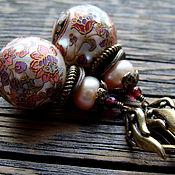 """Украшения ручной работы. Ярмарка Мастеров - ручная работа """"Расписные шары"""". Handmade."""