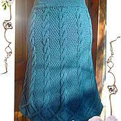Одежда handmade. Livemaster - original item Knitted woolen skirt