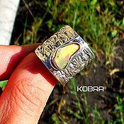 Украшения ручной работы. Ярмарка Мастеров - ручная работа кольцо с опалом. Handmade.