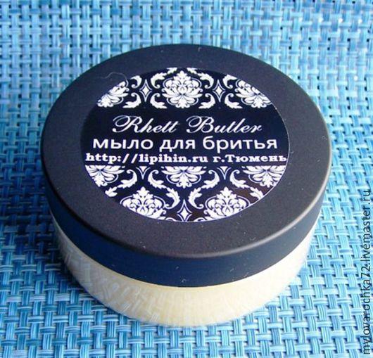 """Мыло ручной работы. Ярмарка Мастеров - ручная работа. Купить """" Rhett Butler classic"""" с ланолином мыло для бритья. Handmade."""