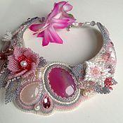 """Necklace handmade. Livemaster - original item Колье """"Аромат дикой Розы"""".. Handmade."""