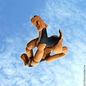 """Куклы и игрушки ручной работы. Ярмарка Мастеров - ручная работа Игрушка """"Эрдель в стойке"""". Handmade."""