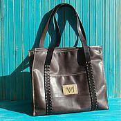 Женская Кожаная сумка Айс.