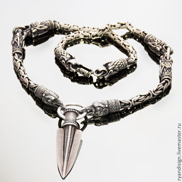 Серебряные цепочки, женские и мужские цепи из