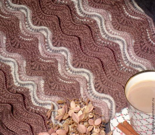 """Шарфы и шарфики ручной работы. Ярмарка Мастеров - ручная работа. Купить Снуд """"Пряная осень с ароматом какао"""". Handmade. Осень"""