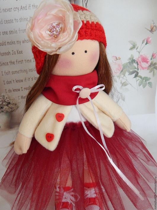 Куклы тыквоголовки ручной работы. Ярмарка Мастеров - ручная работа. Купить Текстильная кукла тыквоголовка АЛИНА. Handmade. Текстильная кукла