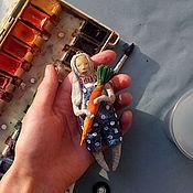 """Материалы для творчества ручной работы. Ярмарка Мастеров - ручная работа Видео курс """"Ватные дети в костюмах зверей"""". Handmade."""
