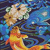 Материалы для творчества handmade. Livemaster - original item The scheme for embroidery Czech beads