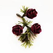 Украшения ручной работы. Ярмарка Мастеров - ручная работа Полярная роза. Handmade.