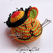 Куклы и игрушки handmade. Livemaster - original item Toy Rasta-cat Bob Marley cool souvenir-needle amigurumi. Handmade.