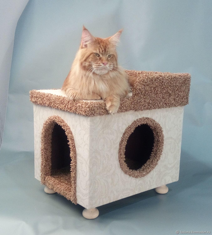 картинки дом для кошки как настоящий