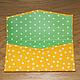 """Конверты для денег ручной работы. Заказать Мягкий конверт для денежного подарка """"Солнечный"""". RainbowArt. Ярмарка Мастеров. Подарок, бабочка, цветы"""