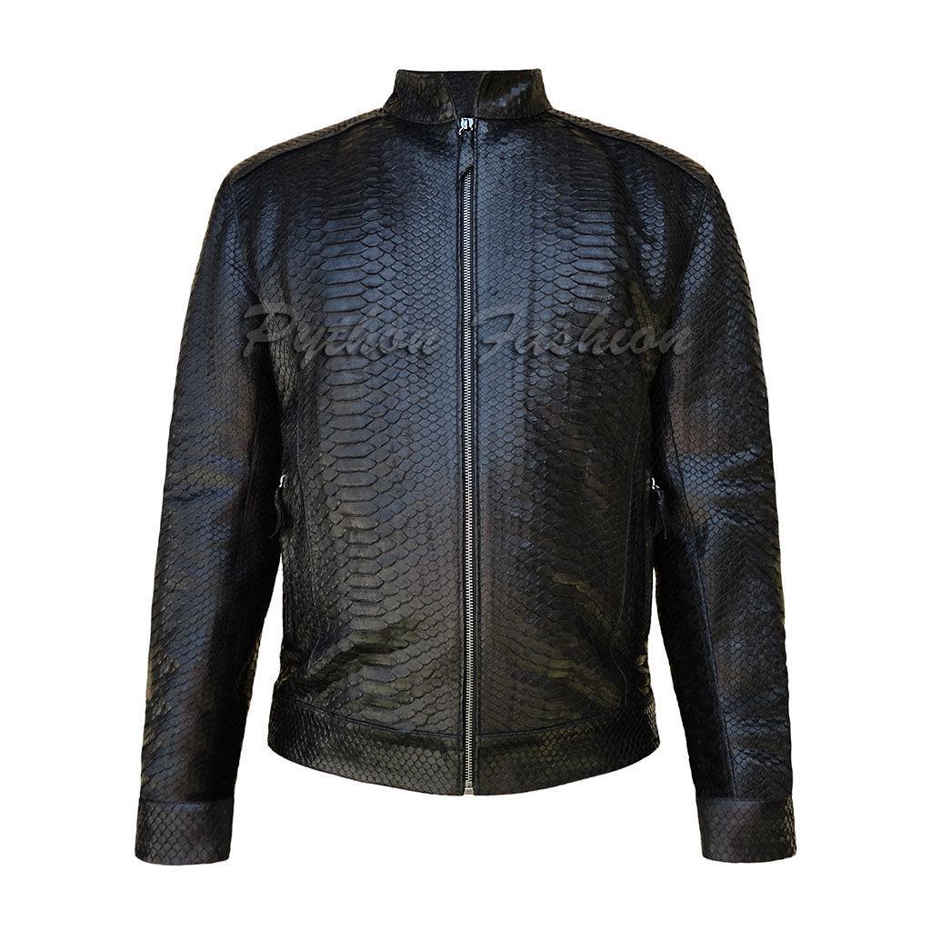 Мужская куртка из питона Pilot, Верхняя одежда мужская, Денпасар,  Фото №1