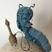 Куклы и пупсы ручной работы. Ярмарка Мастеров - ручная работа Синяя Гусеница Абсолем. Handmade.