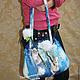 Женские сумки ручной работы. Заказать Полет на одуванчиках. Екатерина Тасминская. Ярмарка Мастеров. Одуванчики, шёлк